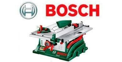 Las Mejores Sierras de mesa Bosch
